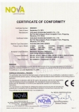 CE Certificate for Packing Machine