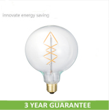 Life>30000hrs Full glass big globe led bulbs made in china