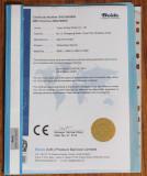 Temperaturesensor CE Certificate