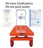 Table truck with CE certification