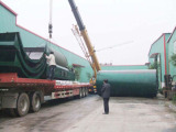 12Ton Batch type tyre recycling to oil pyrolysis machine