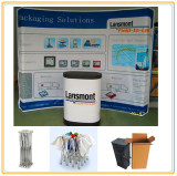 Easy 8ft Curved Pop up Stand for Advertising Promotion