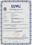 EU certificate for 26500V insulation rubber mat, rubber sheet
