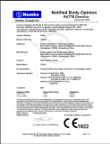 1. CE Certification for TK310