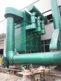 Dust collector used in cutting plant