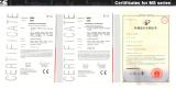 Certificate for transformer amplifier