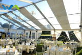 client′s sharing for 15m transparent party event tent