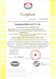 Occupational Health and Safety Management System ISO18001:2007