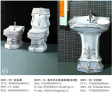 Best price/ best sell sanitary ware one piece toilet (0001-1)
