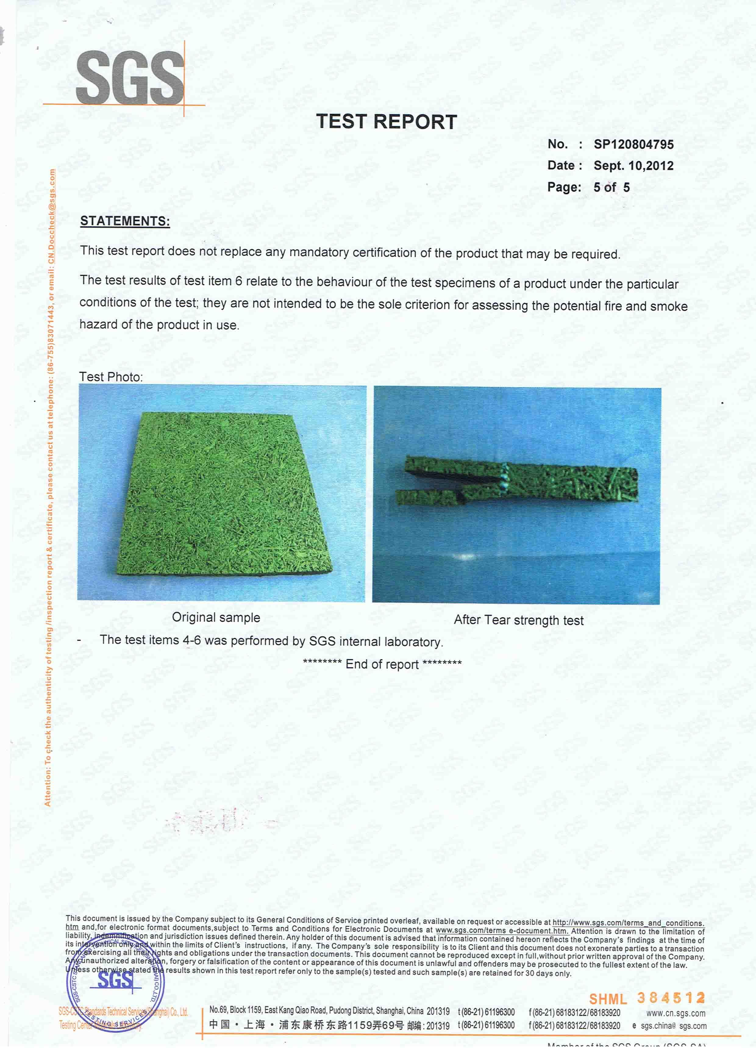 Rubber Tile SGS(5)