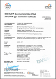 DIN-DVGW type examination certificate
