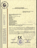 CE Certificate for RGC