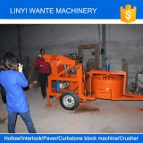 South africa customer visiting our factory to check the WT1-20M brick machine