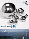 40mm Series Chrome Steel Ball for Wind Turbine Bearing