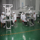 Assembly Line of Solar Panel