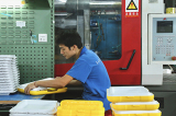 Guangzhou Rodman Plastic Company Limited - Cooler Division - Injection Moulding Area