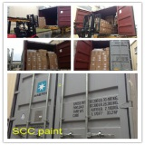 the goods of car paint shipping to overseas countries
