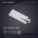 all in one 20W motion sensor solar led street light