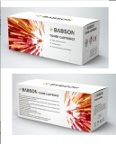 Babson toner cartridge nuetral color box