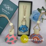 Clay perfume bottle for car air freshener