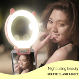 Selfie Stick Led Flashlight Circle Ring Light for Selfie