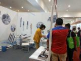 Customer Visits Our Carbide End Mill Tools On Malaysia Trade Show