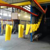 powder coating of corner guard