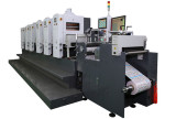 Waterless offset label printing machine