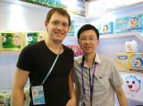 Canton fair meeting with UK customer