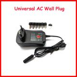 3V 4.5V 5V 6V 7.5V 9V 12V Charger 6 Pieces Connection Tip Power Supply EU/UK/US 30W Power Adapter