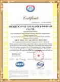 OHSAS 18001: 2007 Certificate