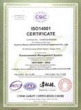 ISO14001:2004 Environment Management System Certificate