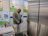 Customers on our booth of Exhibition