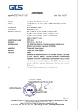 RoHS certificate for DIN rail mount solid state relay
