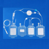 Medical Disposable Blood Bag with PVC