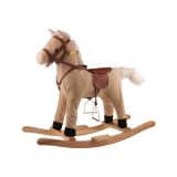 Rocking horse plush toy