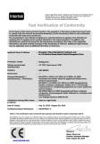 CE Certificate for Refrigerator