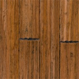 Carbonized Distressed Strand Woven Bamboo Flooring