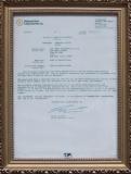KEFA UL Certificate