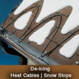 roof & gutter deicing cable