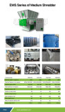 EMS Plastic shredder for Lumps/Pipes/Film/Woven Bags