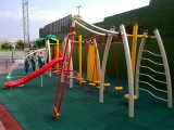 outdoor playground real case view from our customer photo taken