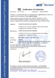 SPF+FCC-VOC Certificate