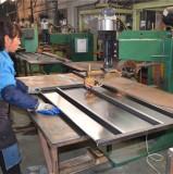 making steel shelves