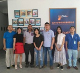 Clients from USA (borned in India) visit our factory