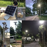 Road Smart Integrated Solar Nighthawk light in Tailand