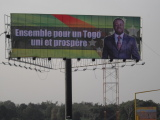 Outdoor Billboard Display Structure in Togo