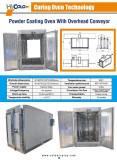 Powder Coating Oven with Overhead Conveyor