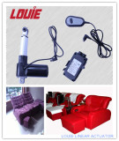Linear actuator for sofa use