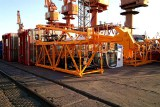 08 Sets Cranes and Hoist export to Africa Client by Bulk Ship